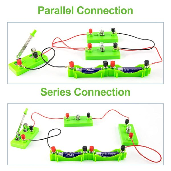 Electric Circuit Science Experiment Kit