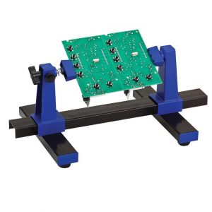 BURNTEC PCB Holder Clamp - Holds Circuit Board for Soldering 360° Adjustable Aid