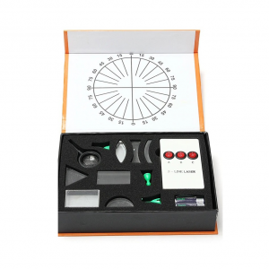 Optical Physics Kit (Laser experiment) Light box and accessories