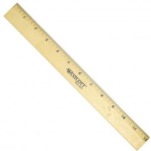Wooden Ruler 1m thickness 0.8cm Wooden Ruler