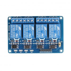 4 Channel DC 5V Relay Module for Arduino Raspberry Pi DSP AVR PIC ARM